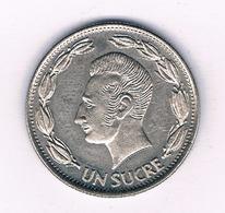 UN SUCRE 1970 ECUADOR /4992/ - Ecuador