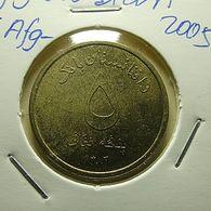 Afghanistan 5 Afghanis 2005 - Afghanistan