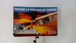 Publicité De Presse Automobile De 1986 Huile Moteur Total GTV 15W50 - Transporto