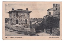 LA ROCHE SUR YON - Rue D'Equebouille (carte Animée) - La Roche Sur Yon