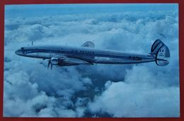 Cpa LOCKHEED SUPER CONSTELLATION  AIR FRANCE - 1946-....: Ere Moderne