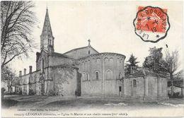 LEOGNAN : EGLISE SAINT MARTIN - Francia