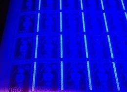 Briat 0,50 F Violet - Feuille Du 3/9/91 - Variété : SANS PHO 1ère Colonne Et Pho à Gauche Sur Les 9 Autres Colonnes . - Errors & Oddities