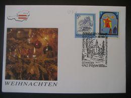 Österreich- St. Nikola/Pram 6.12.1992 Vom 20. Sonderpostamt - 1991-00 Cartas