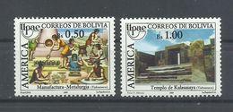 BOLIVIA    YVERT   735/36      MNH  ** - Bolivia