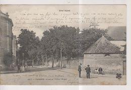 CPA-56-Morbihan- VANNES- Avenue Victor Hugo- - Vannes