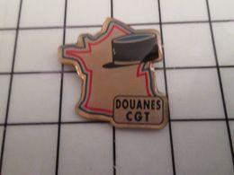 316a Pin's Pins / Rare & Belle Qualité !!! THEME : ASSOCIATIONS / SYNDICAT COMMUNISTE CGT DOUANES !!! DES COCOS GABELOUS - Associations