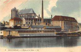 Montereau - L'Eglise Et La Seine - France