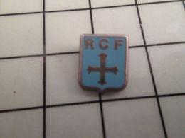 316a Pin's Pins / Rare & Belle Qualité !!! THEME : AUTRES / MINI PIN'S RCF CROIX PATTEE Modèle Métal Acier - Pin's