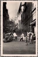 Automobile à Hong Kong C.1949 - HONKING POST 2e à Droite Hongkong - Carte Photo Sans Dos Imprimé - Old Street - Cina (Hong Kong)