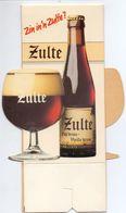 Pub Reclame - Bier Zulte Oud Bruin - Alcools