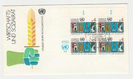 FDC VN Vereinte Nationen Wirtschafts Und Sozialrat 1980 - FDC