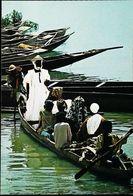 Niger Pirogue  Marché D'Ayourou - Niger