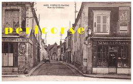 72  Vibraye  Comptoir D'escompte Et épicerie Rue Du Château - Vibraye