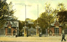 028 877 - CPA - Pays-Bas - Rotterdam - Entrée Diergaarde - Rotterdam