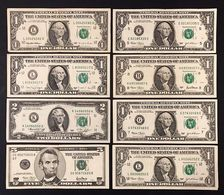 Usa 5 $ 2001 + 2 $ 1976 + 1 $ 2003 X 3 + 2001 + 1995 + 1988 LOTTO 360 - [ 4] Emisiones Provisionales