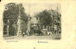 028 878 - CPA - Pays-Bas - Rotterdam - Ingang Diergaarde - Rotterdam