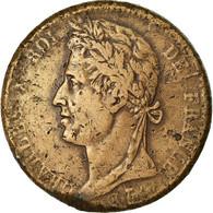 Monnaie, Colonies Françaises, Charles X, 10 Centimes, 1827, La Rochelle, TB - Colonies