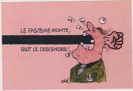 SINE Ed Parti Communiste - Politique Fascisme Le Pen Front National - CPM 10,5x15  TBE 1992 Neuve - Sine