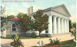 POSTAL   ARLINGTON  -VIRGINIA  -EE.UU.  -GENERAL LEE'S MANSION - Arlington