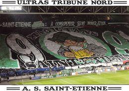 CPSM - FOOTBALL - AS ST ETIENNE - Ultras Tribune Nord - Édit. Les Magic Fans ♥ - Fútbol