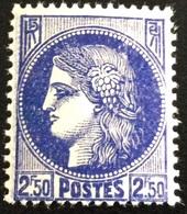 N° 375A   NEUF ** SANS  CHARNIÈRE ( LOT:1159 ) - 1945-47 Cérès De Mazelin