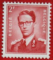 2 Fr Koning Boudewijn Normaal Papier 1953 OBP 925 (Mi 974 X) POSTFRIS/MNH ** BELGIE BELGIUM - Unused Stamps