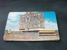 BIBLIOTECA LIBRARY Bibliotheque DE LA C.U. CON MOSAICO MURAL DE JUAN O' GORMAN CIUDAD UNIVERSIDAD DE MEXICO - Bibliotecas