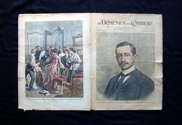 La Domenica Del Corriere  Anno V N 1 4 Gennaio 1903 Guglielmo Marconi Tefegrafia - Libri, Riviste, Fumetti