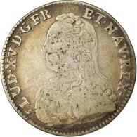 Monnaie, France, Louis XV, 1/2 Écu Aux Branches D'olivier, 1/2 ECU, 44 Sols - 1715-1774 Louis XV Le Bien-Aimé