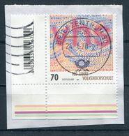 Deutschland Michel-Nr. 3457 Bogeneckrand Vollstempel Auf Briefstück - [7] Federal Republic