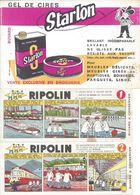 LOT De 5 BUVARDS - RIPOLIN - STARLON - CORDOBA Et STARWAX - Vloeipapier
