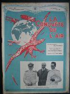"LA CONQUETE DE L'AIR 1927 N°8 - E. BYRD ""AMERICA""-SMITH & BRONTE-Liaison BOMA-ELISABETHVILLE-Gala Des Ailes DUDENDORF - AeroAirplanes"