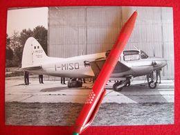 FOTOGRAFIA  AEREO MACCHI MB 320 Matricola I-MISO Aereo Dell'AGIP - Aviazione