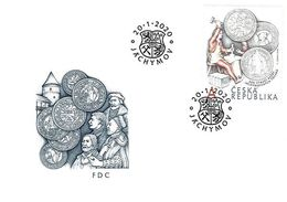 FDC 1057 Czech Republic Joachimthalers Anniversary 2020 - Enveloppes