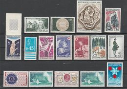 FRANCE NEUFS LOT DE 16 TIMBRES ENTRE 1950 ET 1965 - Zonder Classificatie