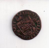 REF MON4  : Monnaie Old Coin Liard 1610 Albert Et Elisabeth Ducs De Bourgogne ? à Confirmer - 987-1789 Royal