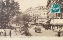75 PARIS XIXe 19e Arrondissement Boulevard De La Villette - 1910 - Arrondissement: 19