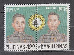 Filipinas - Correo 1989 Yvert 1670/1 ** Mnh  Personajes - Philippines