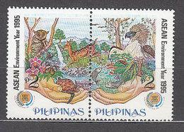 Filipinas - Correo 1995 Yvert 2170/1 ** Mnh  Fauna - Filippijnen