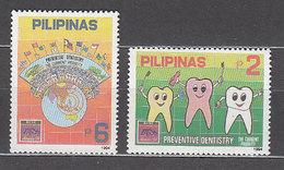 Filipinas - Correo 1994 Yvert 2057/8 ** Mnh  Medicina - Philippines