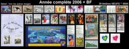 POLYNESIE Année Complète 2006 + BF (NEUF ** MNH) : Yv. 761 à 797 + BF 32  (39 Tp)  ..Réf.POL25074 - Polynésie Française
