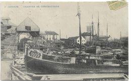 Oostende    *  Chantier Des Constructions  (bateau De Pêche) - Oostende
