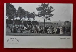 CPA  Examen 1901/ Croix Rouge/ St-Gilles Belgique/ Ambulance-Attelage- Cheval - Croix-Rouge