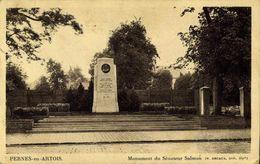 62 Pernes-enArtois - Monument Du Sénateur Salmon / A 662 - Autres Communes
