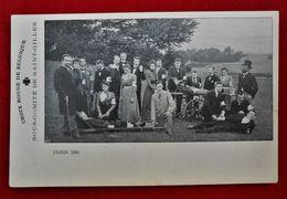 CPA  Examen 1900/ Croix Rouge/ St-Gilles Belgique/ Brancardiers - Croix-Rouge