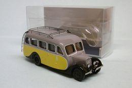 Norev - AUTOCAR CITROEN U23 1947 Jaune Et Gris Neuf HO 1/87 - Vehiculos De Carretera