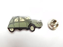Beau Pin's , Auto 2 CV Citroën , 2 CH , Grise - Citroën