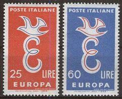 ITALIEN 1958 Mi-Nr. 1016/17 ** MNH - CEPT - Europa-CEPT
