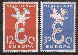 NIEDERLANDE 1958 Mi-Nr. 718/19 ** MNH - CEPT - Europa-CEPT